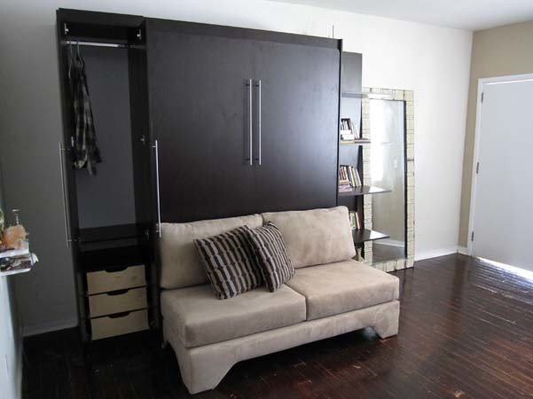 Murphy Bed Over Sofa