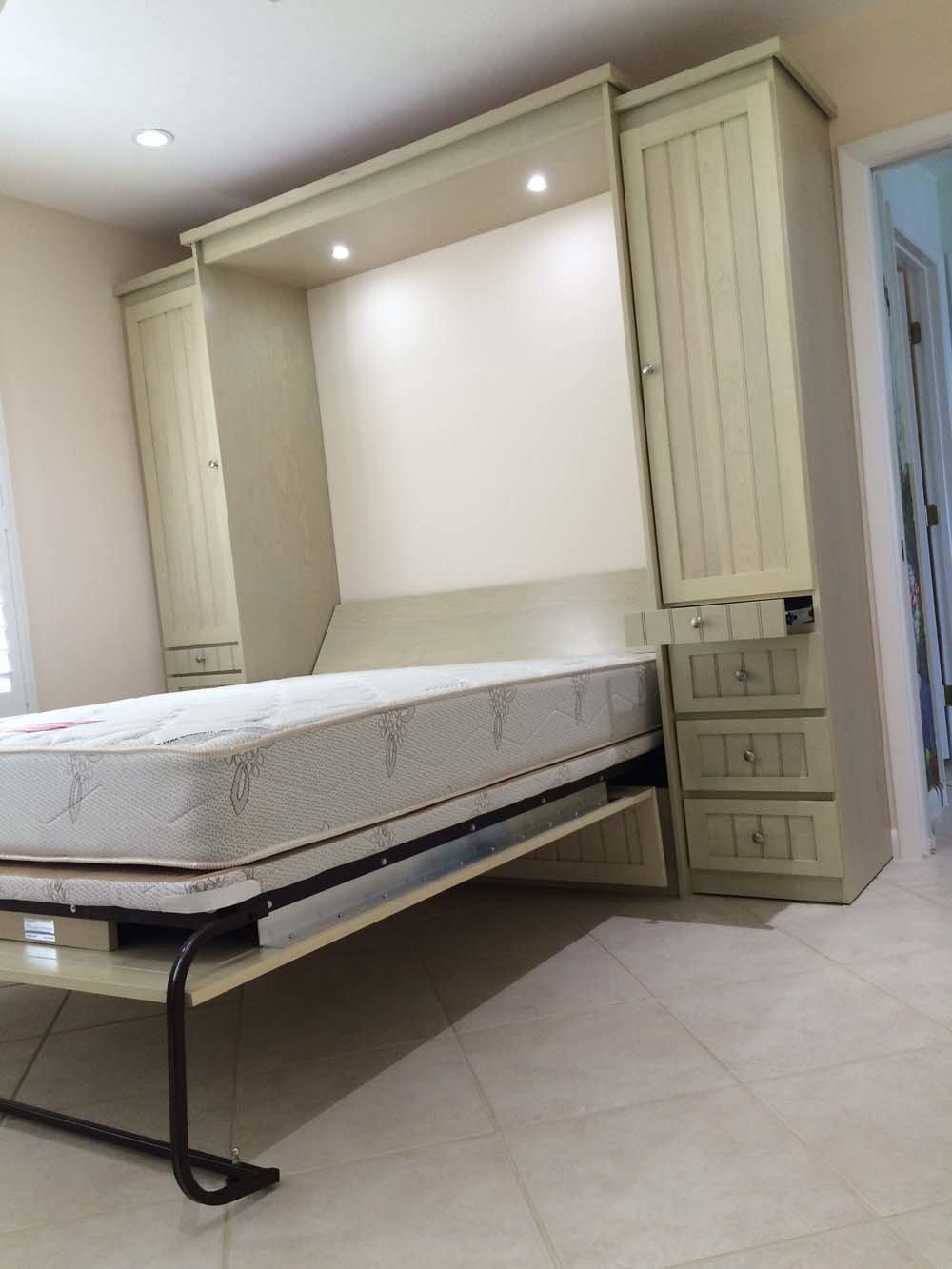 Wood Murphy Bed